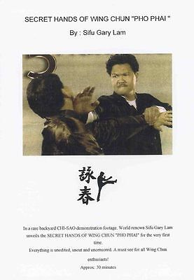 "DVD:Secrets Hands Of Wing Chun""PO PAI""By Sifu Gary Lam"