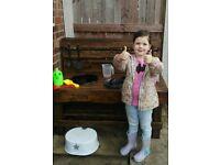 childs play mud kitchen