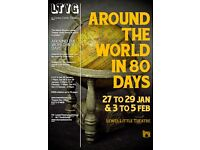 Lewes Little Theatre presents Around the World in 80 Days - Family Theatre Event - East Sussex