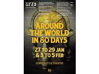 Around the World in 80 Days - Lewes Little Theatre - Explore the globe this Winter with LTYG