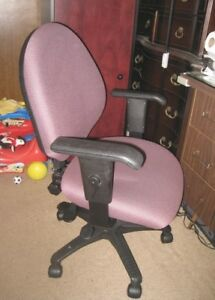 Used Computer Chair, good condition,adjustable handles