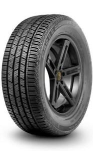 $925  Clearance 4 NEW Tires SALE 235/55R17 Continental CONTICROSSCONTACT LX SPORT 99V  Tires Rims Alberta Tire DEPOT