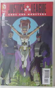 DC COMICS JUSTICE LEAGUE GODS AND MONSTERS #1 reg & variant