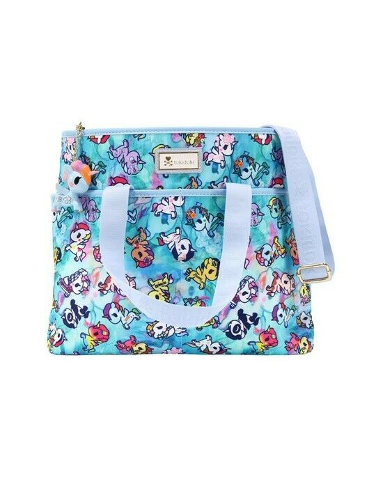 Tokidoki Watercolor Paradise Cinch Crossbody Bag BNWT FREE SHIPPING US SELLER
