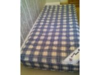 Comfortable clean Kozee Sleep single sprung mattress