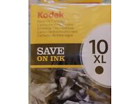KODAK 10XL Black ink new inwrapped