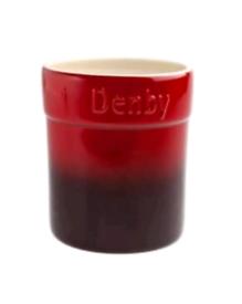 2 x Denby Cherry Utensil Pot