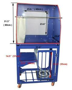 Screen Printing Machine Washout Tank Vertical Washing Sink with Back lighting 006350