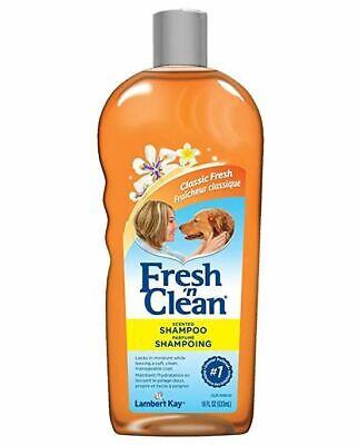 Dog Shampoo Lambert Kay Fresh'n Clean Scented Tearless For Tangles & Mats 18 -