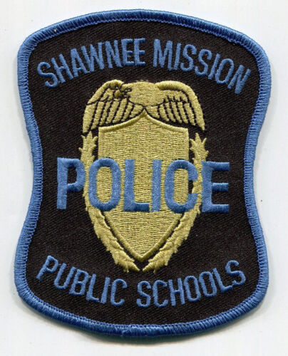 Shawnee Mission Schools Police Patch / Kansas - OLD STYLE // FREE US SHIPPING!
