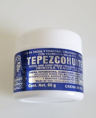 Tepezcohuite cream Collagen & Vitamin E 60 g