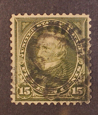 Scott 284 - 15 Cents Clay - Used - Nice Stamp - SCV - $13.00