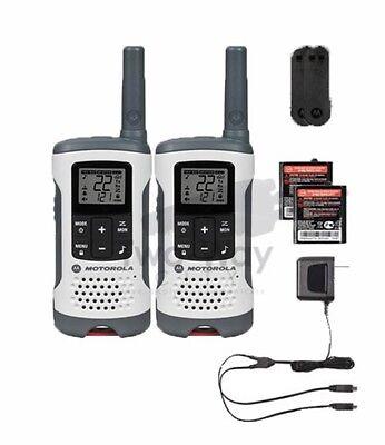 Motorola Talkabout T260 Two-Way Radio / Walkie Talkies Rechargeable 2-PACK segunda mano  Embacar hacia Argentina