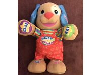 Fisher price dance and wiggle puppy toddler toy