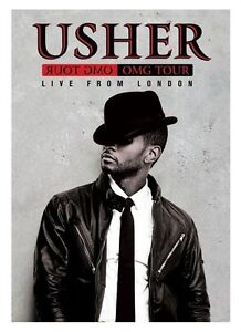 USHER-OMG-TOUR-Live-From-London-DVD-Australian-Region-Free