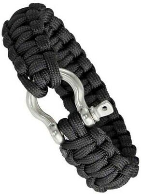 TRAVEL 1ST New 100ft Survival Bushcraft 7 Strand 550 Parachute Cord//Paracord TYPE III Lanyard and Survival Bracelets-White//Blue Tracer