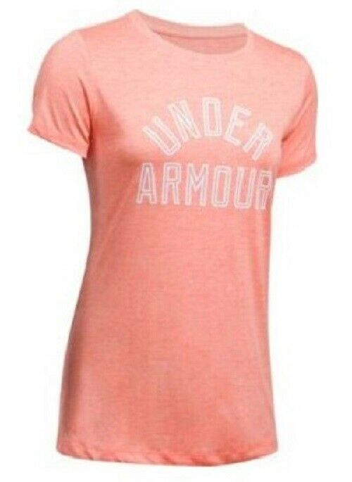 UNDER ARMOUR WOMENS TWIST TECH TEE SHIRT TOP HEAT GEAR ODOR