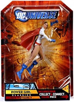 DC Universe Classics Wave 10 Power Girl Exclusive Action Figure #4 10 Power Girl