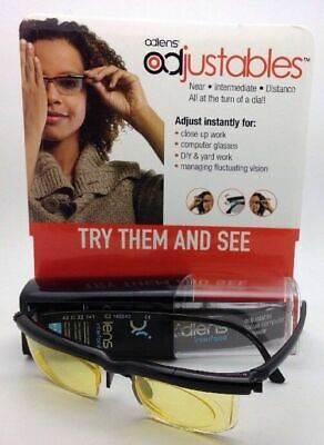 New ADLENS INTERFACE Adjustables Computer Glasses Rx range +3.00 to -6.00 (Spectacles Malaysia)
