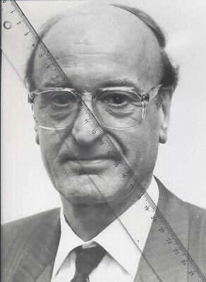 Foto vom Unternehmer RUDOLF MIELE - SW Pressefoto - Vintage von 1984 - Gütersloh