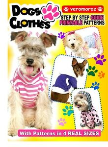 NEW-Printable-Digital-Pattern-Clothes-For-Dogs-12-diferent-models-in-4-sizes