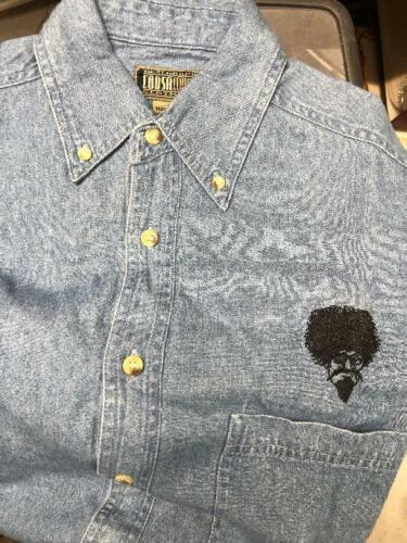 """The Ghoul Show  """"Last One"""" Denim Shirt size Small"""