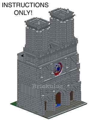 LEGO Custom Modular Cathedral Instructions USB Flash Drive ()