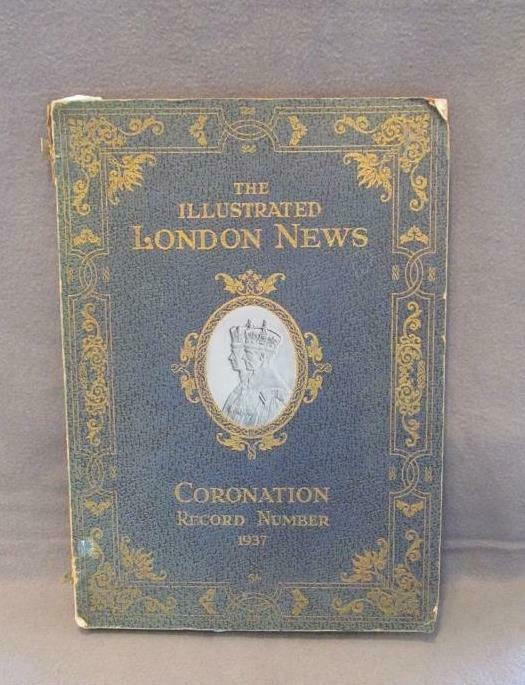 Coronation account of King George VI 1937