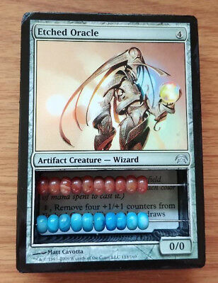 *ETCHED ORACLE* Magic the Gathering MTG Abacus Life Counter 2-Sided Uncommon