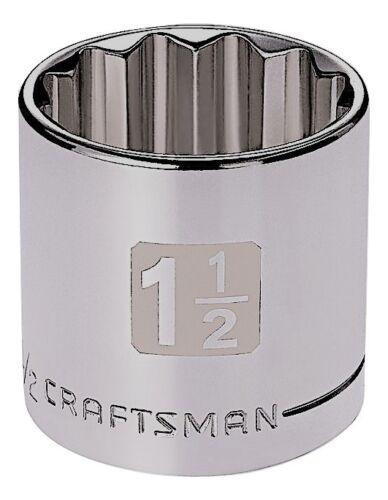 Craftsman 1/2 Dual Laser Etched SAE 12 pt Socket - Any Size