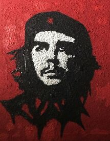 Extra large Gravel Painting of Che Guevara