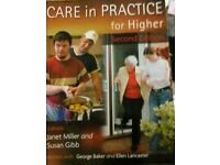 Care in practice for higher second edition hnc/ hnd book