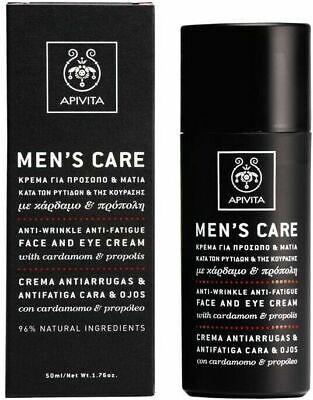 Apivita Men's care Anti-wrinkle and anti-fatigue cream cardamom and propolis