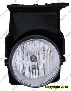 Fog Lamp Driver Side (Classic/Hybrid) High Quality GMC Sierra 2005-2007