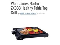 James Martin table top grill - brand new, never used