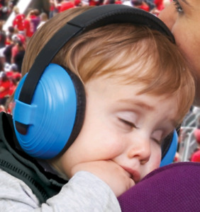 Baby/toddler hearing protection
