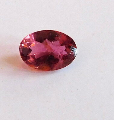 - 1 Piece Natural Pink Tourmaline Oval Cut Loose Gemstone 7 X 5 MM RING SIZE H1501