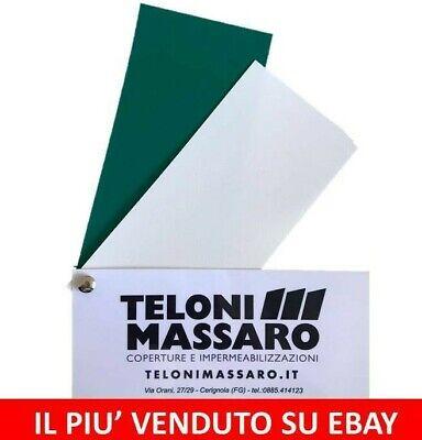 TELO E TELONE IN PVC 720 GR/MQ PER LAGHETTO ARTIFICIALE