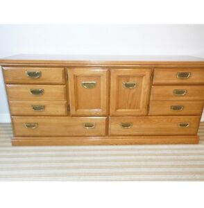 6 Drawer Solid Wood Dresser, Delivered