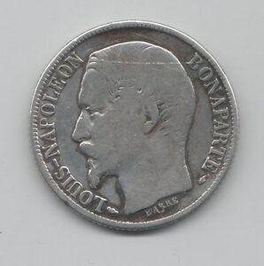 FRANCIA-1-FRANCO-LUIGI-NAPOLEONE-III-MB-1852A-KM-12-RARO-mrm