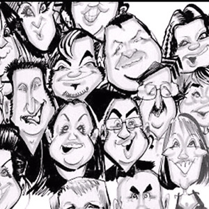 the caricature show