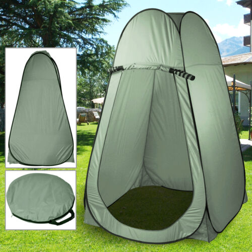 Portable Pop Up Instant Outdoor Tent Camping Toilet Shower