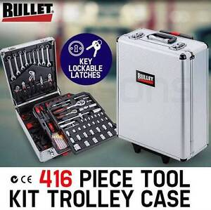 416 Piece Metric Tool Kit Trolley Case Home DIY Tool Carry Roller Perth Perth City Area Preview
