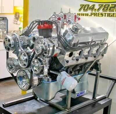 600HP 427 Ford Stroker Engine All Forged Dart SHP Block COMPLETE TURN KEY