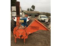 Exenco PTO wood chipper for tractor
