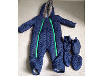 Boys snowsuit TU clothing brand (18-24 months)
