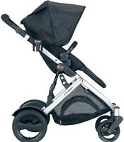 Britax double decker stroller with both seats
