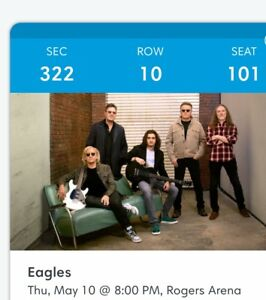Eagle's concert tickets