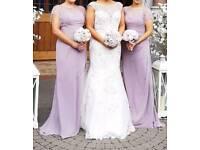 Bridesmaids dresses-justin alexander