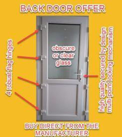 UPVC Back Door - NEW - made to measure
